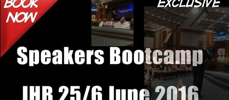 Copy of Speakers Bootcamp Johannesburg, South Africa 2016