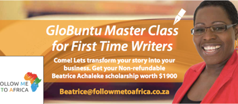 Accelerated GloBUNTU Master Class for Joburg's Aspiring First Time Writers