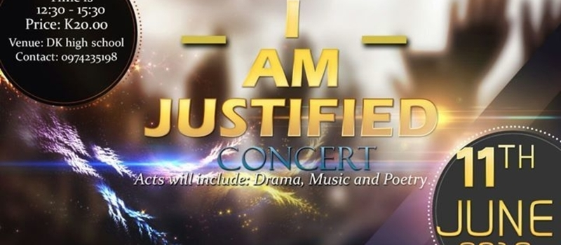 I AM Justified concert