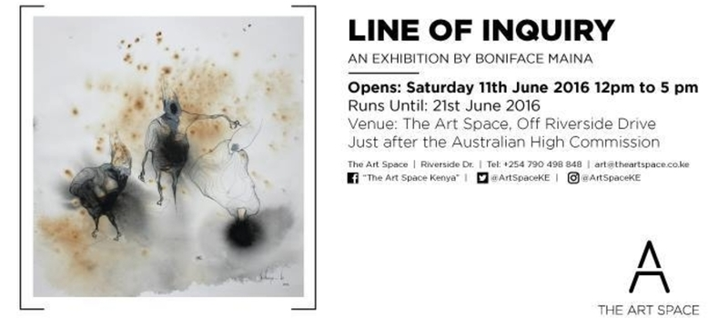 Exhibition Opening: Line of Inquiry by Boniface Maina