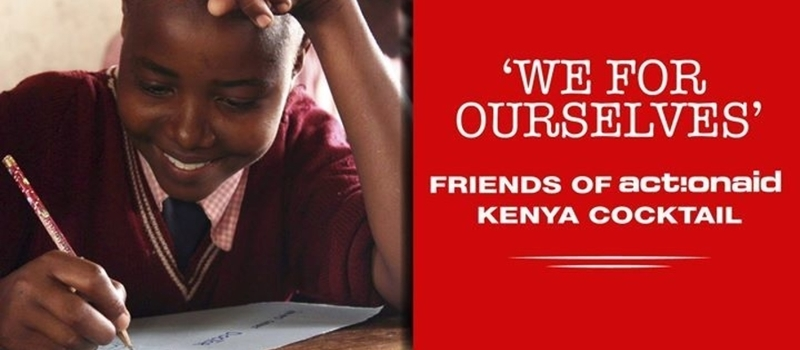 We For Ourselves - Friends of ActionAid Kenya Cocktail