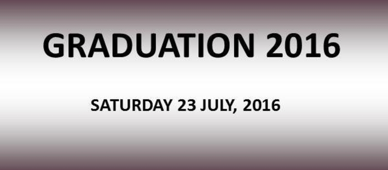 16th Graduation Ceremony