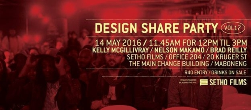 The Design Share Party Presents: Vol18 at BASHA UHURU