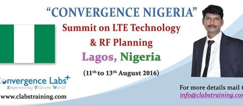 "Convergence Nigeria - Summit on ""LTE Technology and RF Planning on Atoll"""