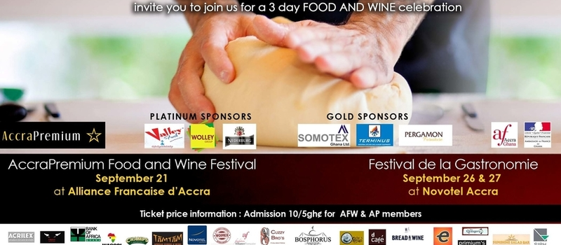 Festival de la Gastronomie and AccraPremium Food and Wine Festival