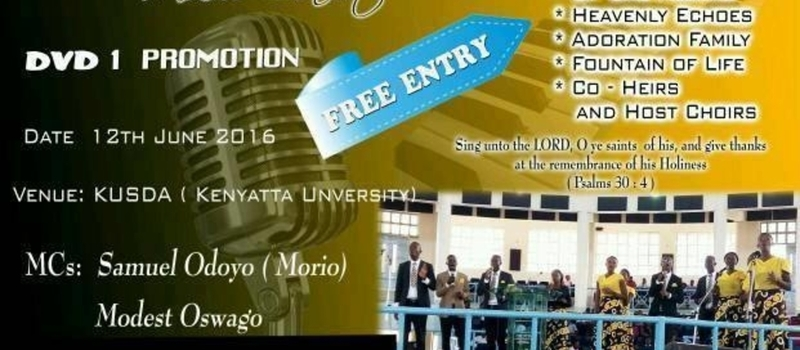 Adventist music shop will be in Kenyatta University KUSDA