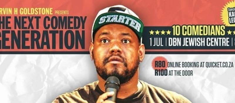 Carvin H Goldstone Presents The Next Comedy Generation