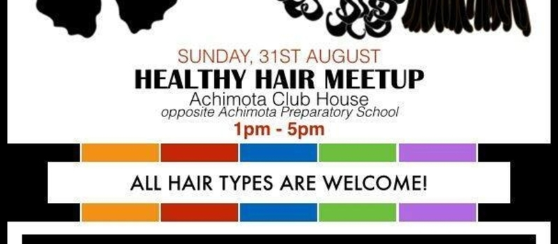 Healthy Hair Meetup