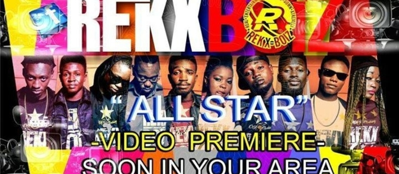 Supporting the REKX BOIZ during their 'all star' Video Premiere