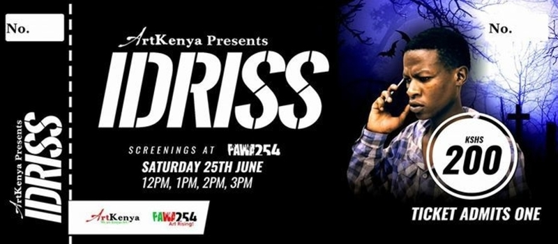 Art Kenya Presents : Idriss - Film Screening