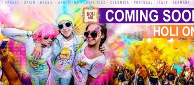 Pretoria HOLI ONE - WE ARE ONE Colour Festival 2016