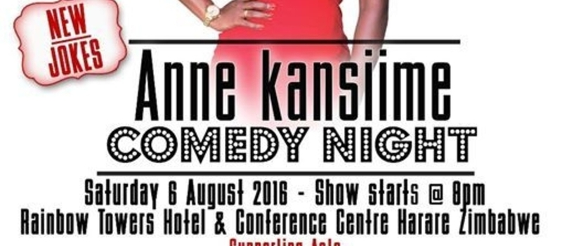 Anne Kansiime Harare Zimbabwe Comedy Night