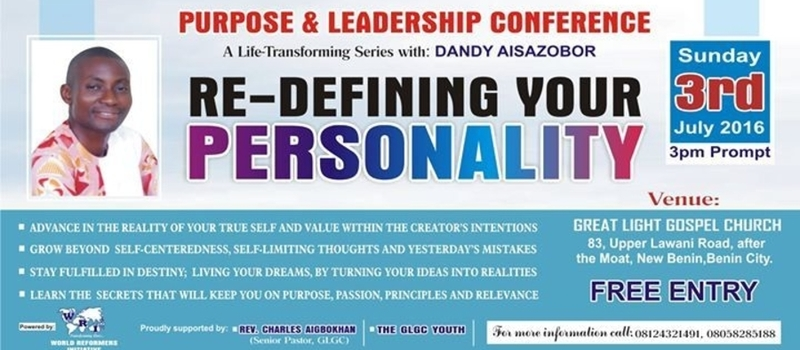Purpose & Leadership Conference