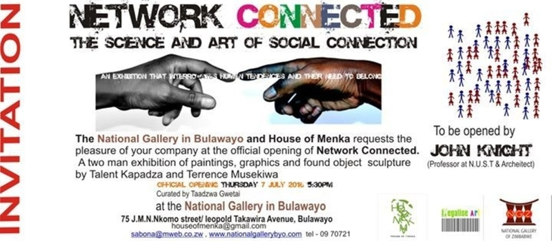 House of Menka presents. Network Connected art exhibition opening