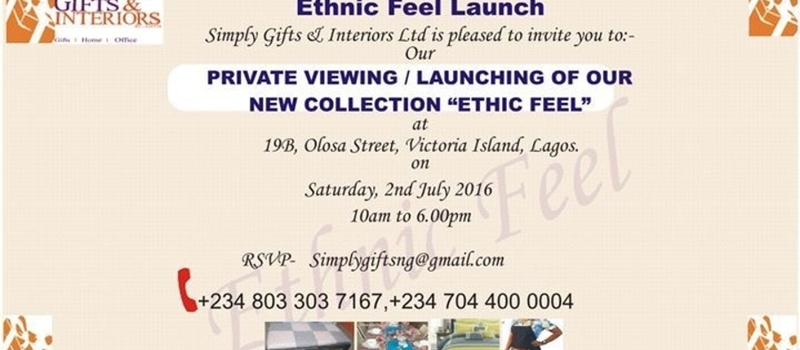 Ethnic Feel Launch