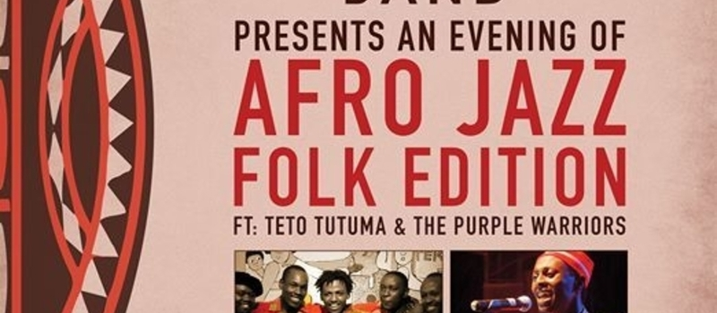 "ANEVENING OF AFRO JAZZ ""FOLK EDITION"""