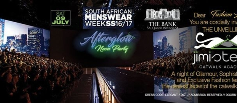 Afterglow Neon Party South Africa Menswear Week