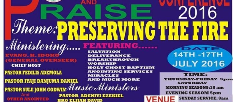 POWER and PRAISE CONFERENCE 2016