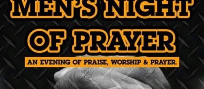 Men's Night Of Prayer