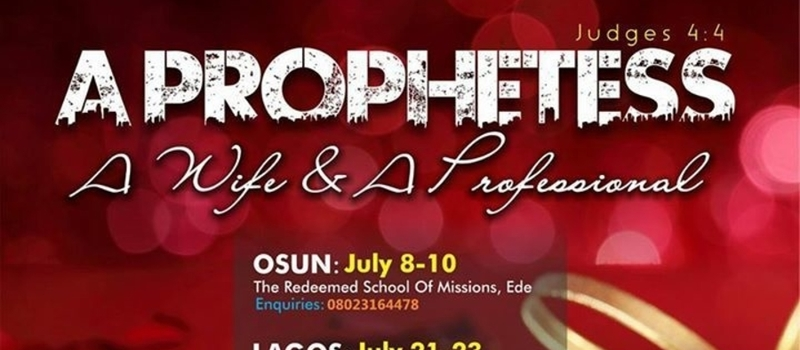 SOV NATIONAL LADIES CONFERENCE (A Prophetesses A Wife and A Professional)