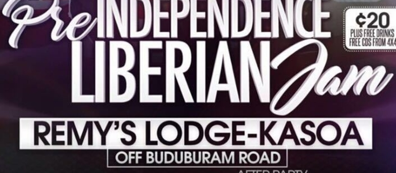 Pre Independence Liberian jam July 24