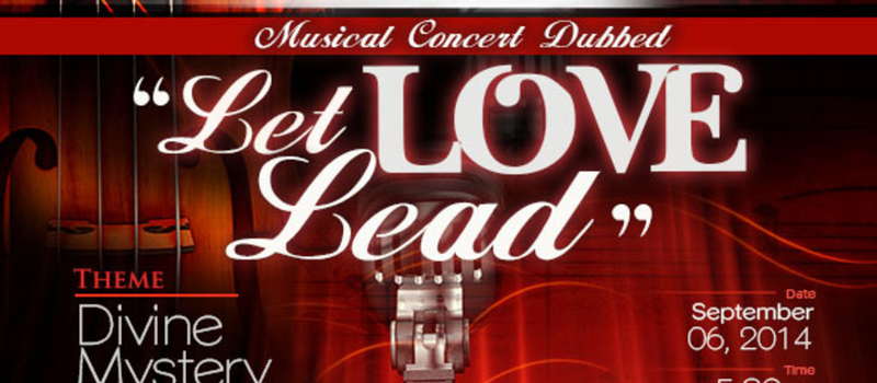Let Love Lead Musical Concert