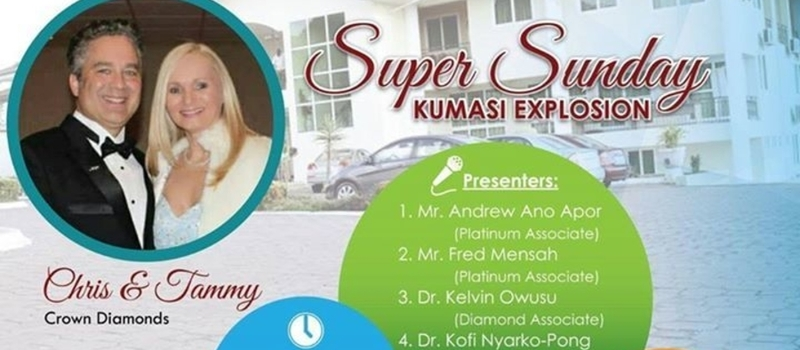 Max International Business Opportunity Kumasi, Ghana