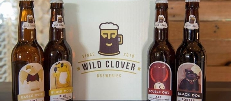 Wild Clover Breweries Craft beer Tasting