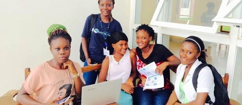 InsightSTEM West Africa Campus Ambassadors Campaign at University of Liberia