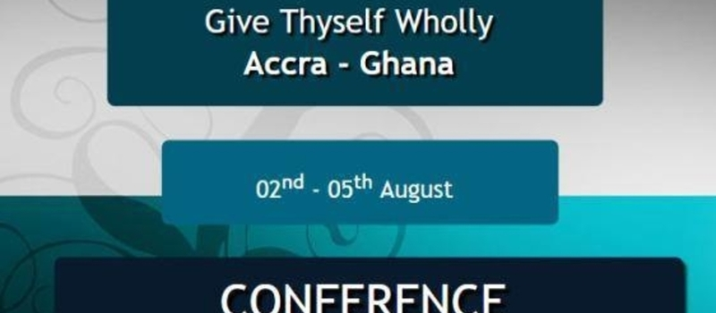 Give Thyself Wholly Conference