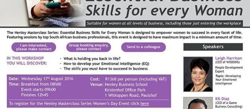 Women's Day Event at Henley