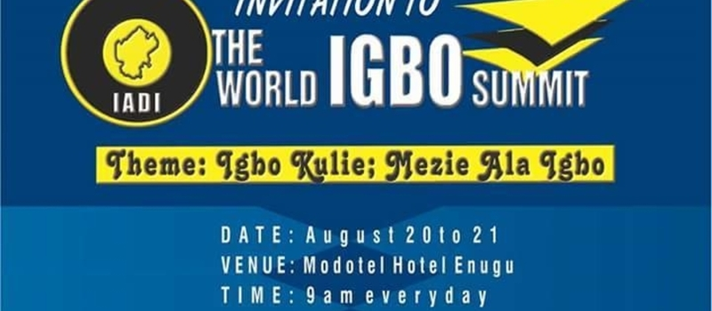 World Igbo Summit