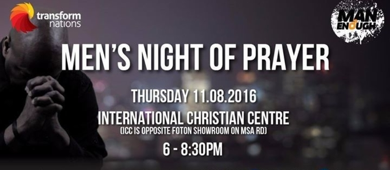 Men Night of Prayer