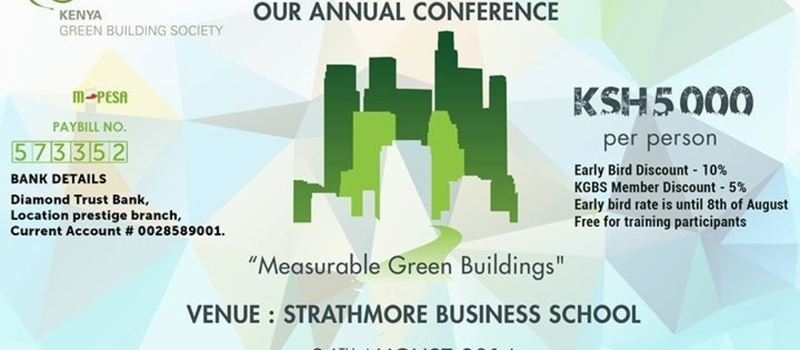 The Kenya Green Building Society Annual Conference