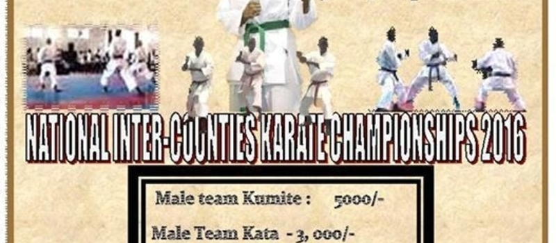 Inter Regions/Counties Karate championships