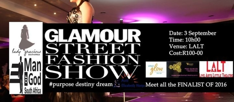 Lady Gracious/ Man of God South Africa Charity-Street Fashion SHOW