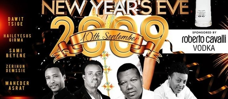 Ethiopian New Year Eve Party at Vlounge Kasanchis