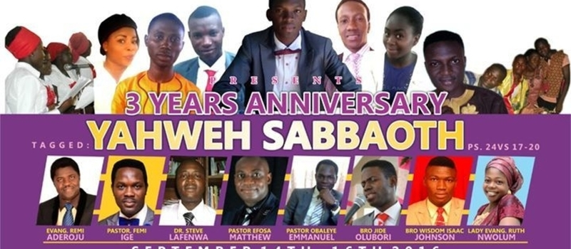 VESSEL UNTO HONOUR PRAISE AND DRAMA MINISTRY 3RD YEAR ANNIVERSARY