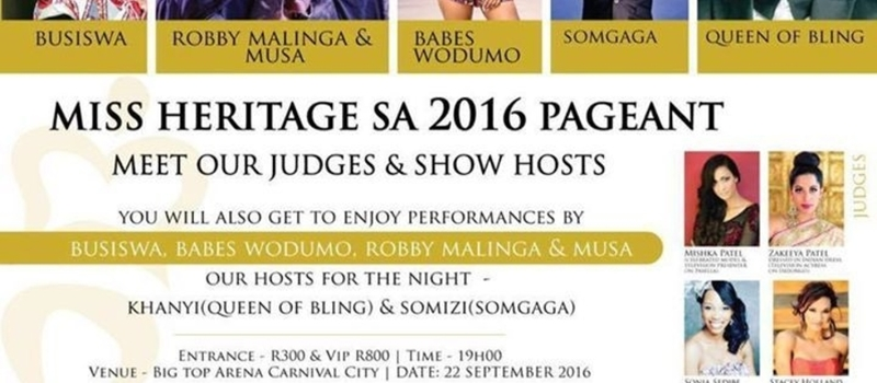 Miss Heritage South Africa 2016
