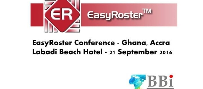 EasyRoster Conference - Ghana, Accra
