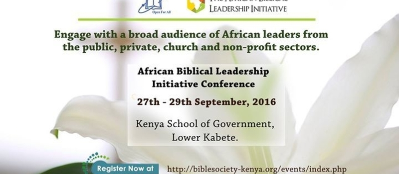 African Biblical Leadership Initiative Conference