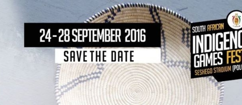 South African Indigenous Games Festival 2016