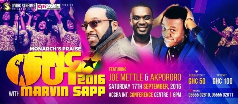 Sing Out 2016: A Live Praise and Worship Experience
