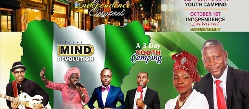 NIGERIA INDEPENDENCE CARNIVAL/SANCTUARY YOUTH CAMPING
