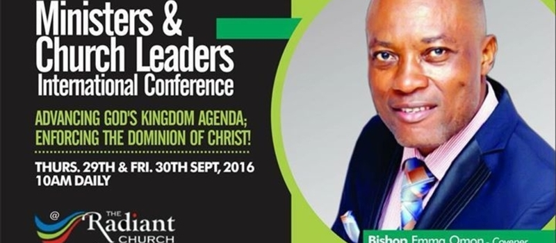 Ministers And Church Leaders Conference 2016