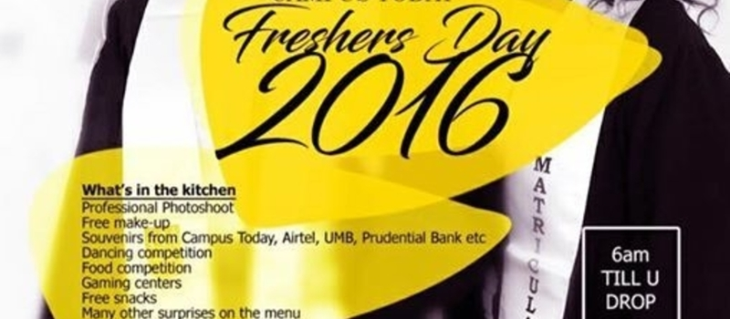 "UCC Matriculation ""Freshers Day"""