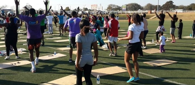 ROAD TO SUMMER FITNESS, THE ARCADES CHALLENGE, RUN, SKIP AND AEROBICS WORK OUT.