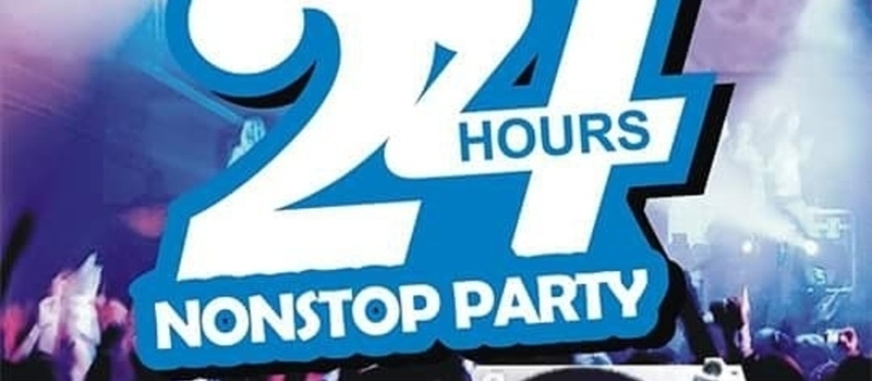 OPEN 24 HOURS NONSTOP ENTERTAINMENT