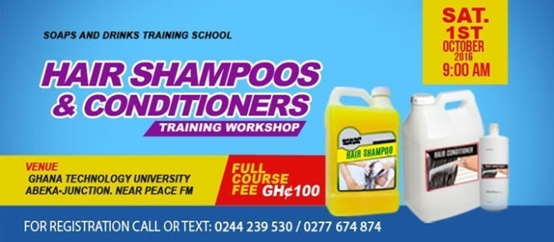 Shampoos & Conditioners Training Course