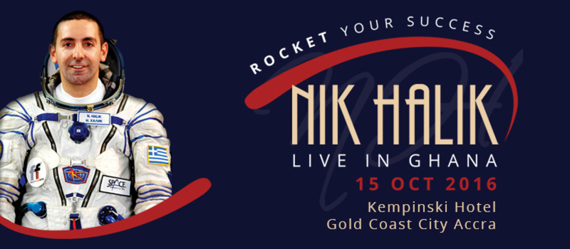 Rocket Your Success with Nik Halik LIVE in Accra, 15 October 2016